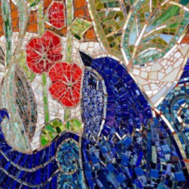 Pittsboro NC mosaic comes to life
